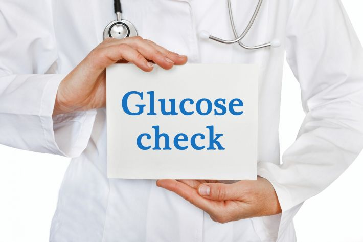 testing blood glucose levels