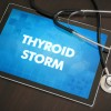 The symptoms, diagnosis and treatment of a thyroid storm